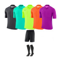 Pack arbitre 4 maillots Nike MC Violet AA0735-551