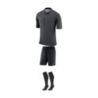 Tenue Arbitre Nike Manches Courtes AA0735 AA7037 060 Anthracite Noir