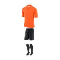 Tenue Arbitre Nike Manches Courtes AA0735 AA7037 819 Orange Noir