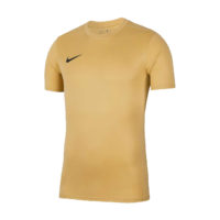 Maillot Nike Park VII Manches Courtes Or Noir BV6708-729