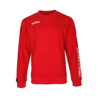 Sweat Spalding Team II Crewneck 300208405 Rouge Blanc