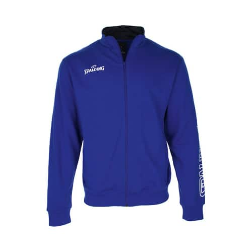 Sweat Spalding Team II Zipper 300208604 Bleu royal Blanc