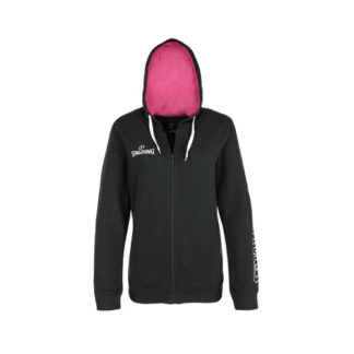 Veste a capuche Spalding Team II Femme 300307907 Noir Rose