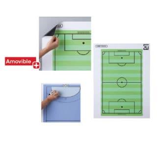 Tableau magnétique et effaçable Tremblay - Football