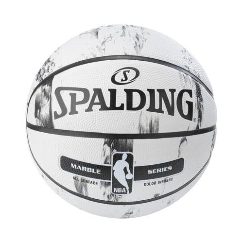 Ballon Basket Spalding Marble BW Outdoor 3001552031417