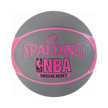 Ballon Basket Spalding NBA Highlight 4Her Outdoor 3001550029816