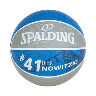 Ballon Basket Spalding NBA Player Dirk Nowitzki 3001586010317