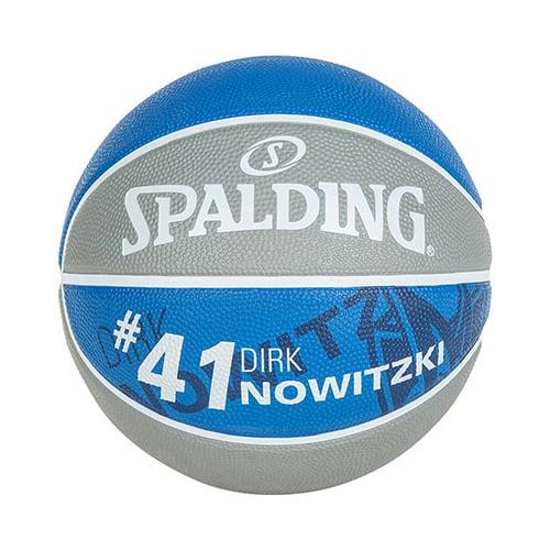 Ballon Basket Spalding NBA Player Dirk Nowitzki 3001586010317