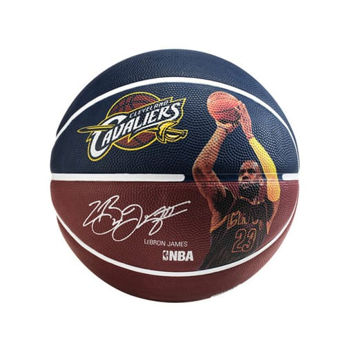 Ballon Basket Spalding NBA Player Lebron James 3001586010215