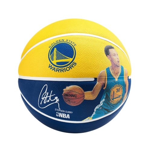 Ballon Basket Spalding NBA Player Stephen Curry 3001586010915