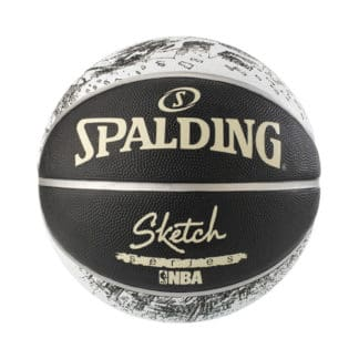 Ballon Basket Spalding NBA Sketch Swoosh Outdoor 3001550020617