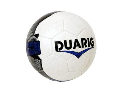 Ballons de foot Duarig Calao taille 3 banc-bleu