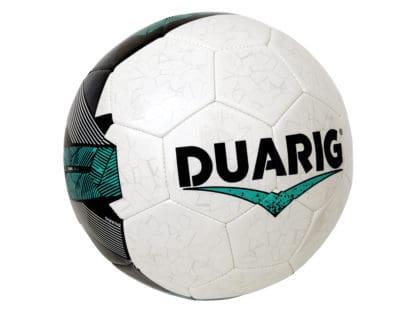 Ballons de foot Duarig Calao taille 5 blanc-vert