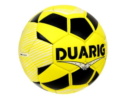 Ballons de foot Duarig Drongo jaune taille 5