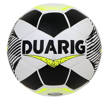 Ballons de foot Duarig Hybride Espatula Rosada blanc-jaune