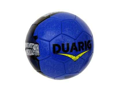 Lot 10 Ballons de foot Duarig Touraco taille 3 bleu