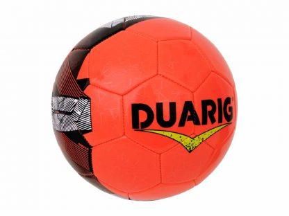 Lot 10 Ballons de foot Duarig Touraco taille 4 orange