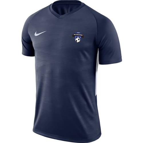 Maillot Nike Bois colombes Futsal 894230 894111 411 Marine Blanc