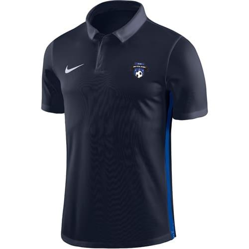 Polo Nike Bois colombes Futsal 899984 899991 451 Marine Bleu