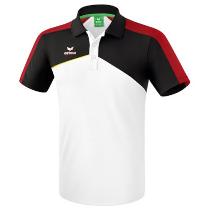 Polo Erima Premium One 20 Blanc Rouge 1111808