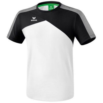 Tee shirt Erima Premium One 20 Blanc Gris 1081803