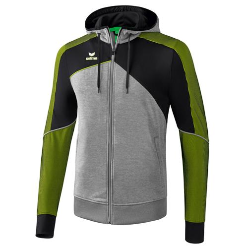 Veste a capuche Premium One 20 Erima Gris Vert 1071806