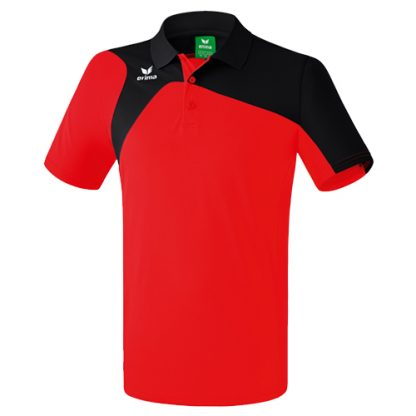Polo Erima Club 1900 2 0 Rouge Noir 1110711
