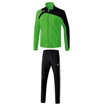 Survetement en polyester Erima Club 1900 2 0 Vert Noir 1020704
