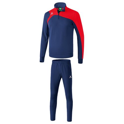 Survetement entrainement Erima Club 1900 2 0 Marine Rouge 1260707 3100705