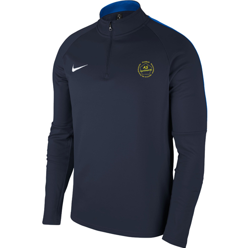 Sweat demi zip Nike AS Courdimanche 893624 893744 451