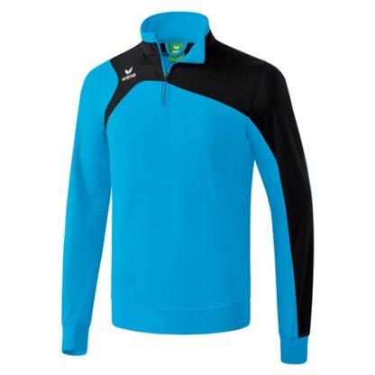 Sweat d'entrainement Erima Club 1900 2 0 Cyan Noir 1260705