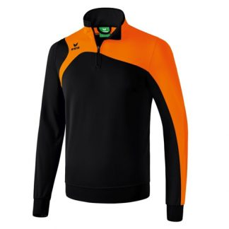 Sweat d'entrainement Erima Club 1900 2 0 Noir Orange 1260708