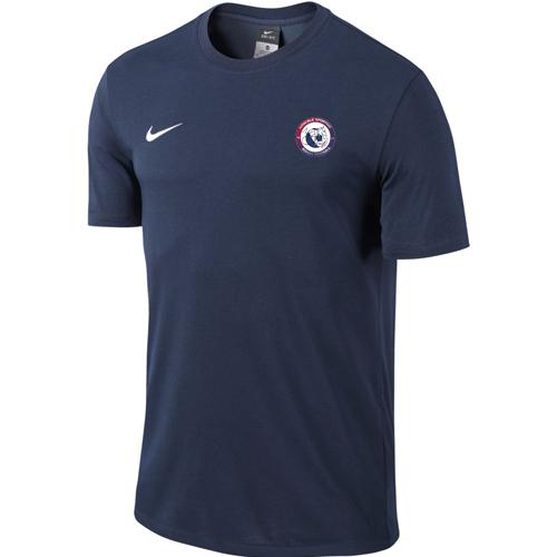 T-shirt AS Air France 658045 451 Bleu marine Blanc