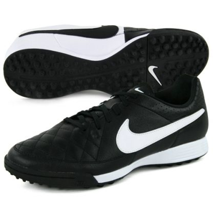 631284-010 nike chaussures football tiempo genio leather tf
