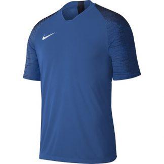 Maillot Nike Strike Enfant AJ1027 463 Bleu royal Blanc
