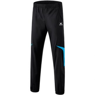 Pantalon en polyester Erima Razor 2 0 Cyan Noir 110619