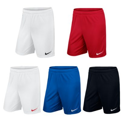 Short Nike Park II Knit non slippe Adulte 725887 sportscoshop