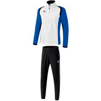 Survetement d'entrainement Erima Razor 2 0 Blanc Bleu royal 107690 3100702