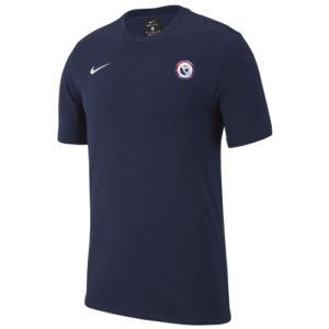 T-shirt AS Air France AJ1504 451 Marine Blanc