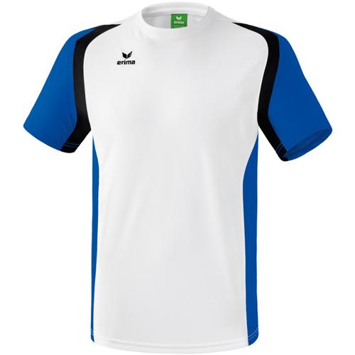 T-shirt Erima Razor 2 0 Blanc Bleu royal 108606