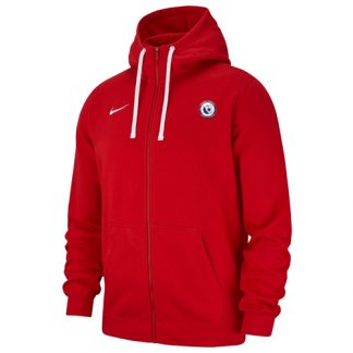 Veste a capuche AS Air France AJ1313 657 Rouge Blanc