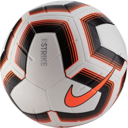 Ballon de competition Nike Strike Team SC3535 101 Blanc Noir Orange