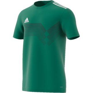 Maillot Adidas Campeon 19 Vert Blanc DP6811