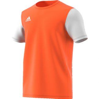 Maillot Adidas Estro 19 Orange fluo Blanc DP3236