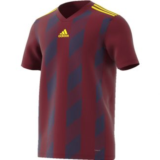 Maillot Adidas Striped 19 Bordeaux Jaune DP3203