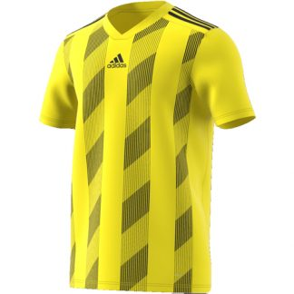 Maillot Adidas Striped 19 Jaune Noir DP3204
