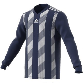 Maillot Adidas Striped 19 ML Marine Blanc DP3209