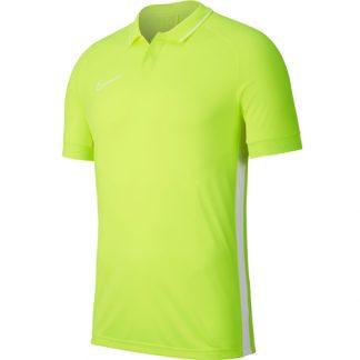 Polo Nike Academy 19 BQ1500 702 Jaune fluo Blanc
