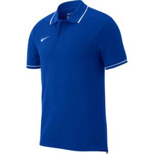 Polo Nike Team Club 19 AJ1502 463 Bleu royal Blanc