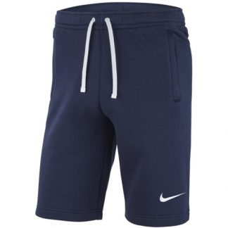 Short Nike Team Club 19 AQ3136 451 Marine Blanc
